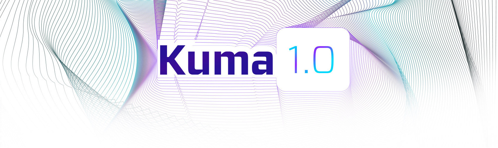 Featured image for a blog article titled Kuma 1.0 GA Released With 70+ New Features & Improvements.